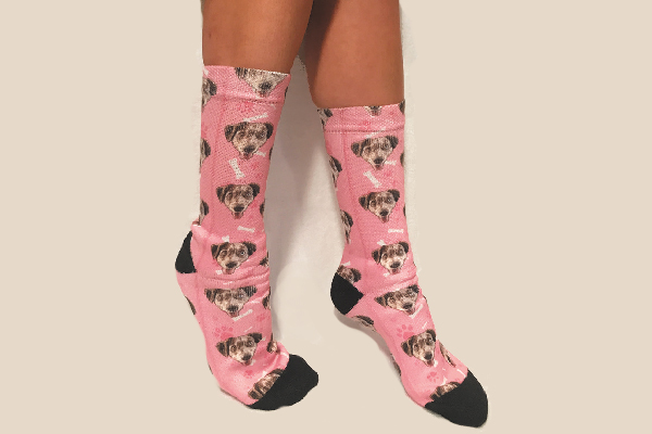 PupSocks Lets You Put Your Dog's Photo on Socks
