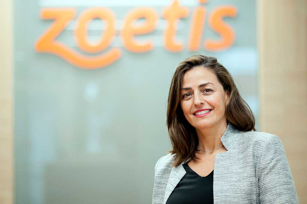 Marta Sánchez de Lerin, director of the area of ​​Animals of Company in Zoetis Spain