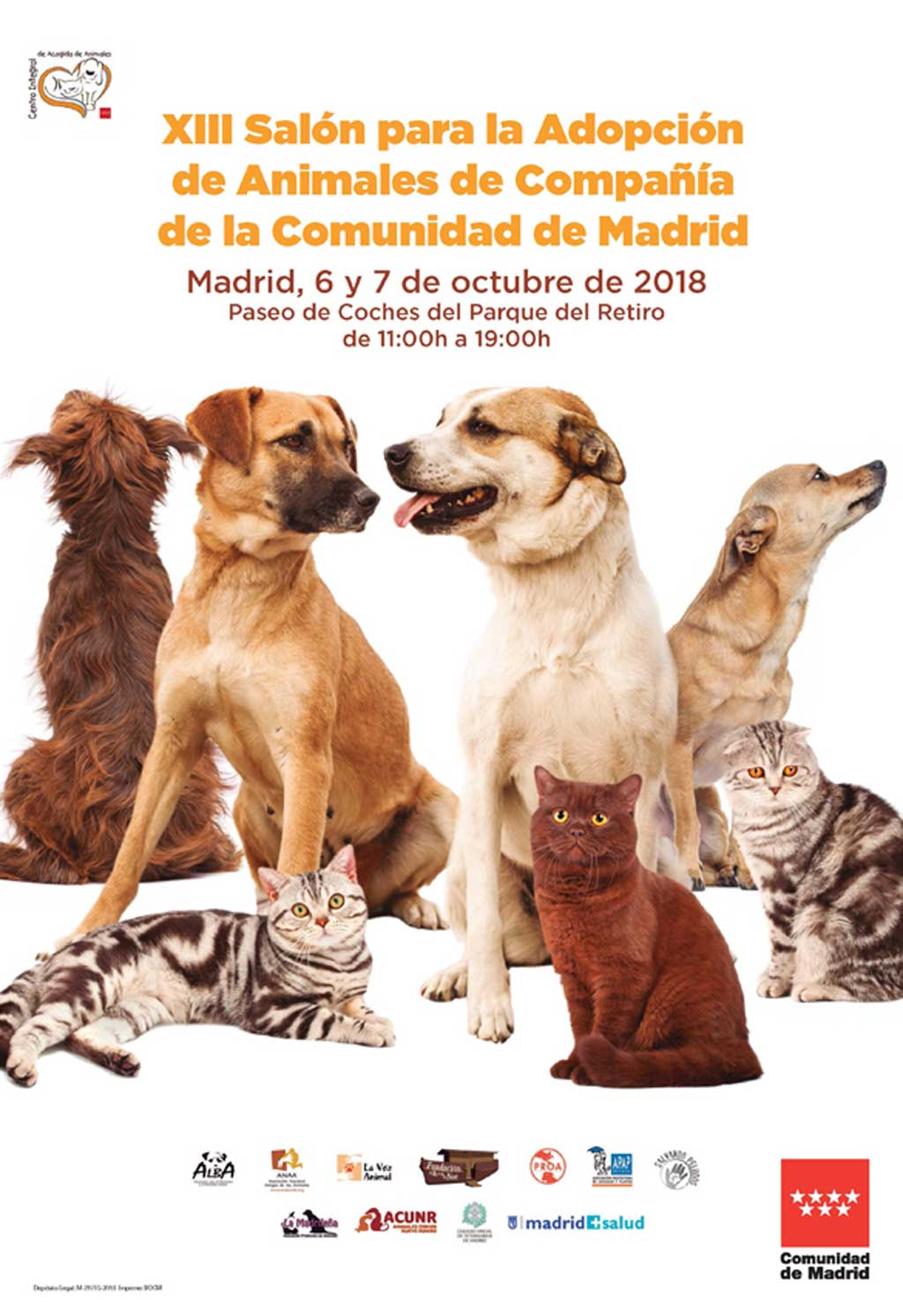 Hall for the Adoption of Companion Animals of the Community of Madrid