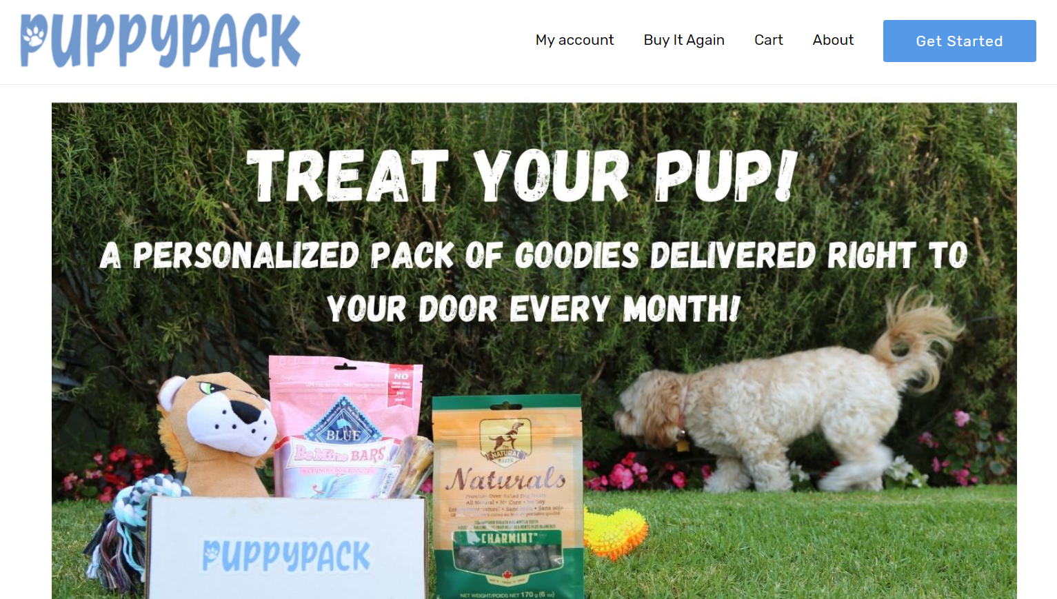 PuppyPack Subscription Service